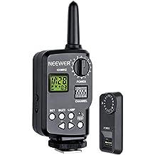 Neewer 10070886 - Disparador remoto inalámbrico de Flash 16 Canales 433 MHz con receptor para TT850, TT860 Speedlite y Godox V850, V860 Speedlite