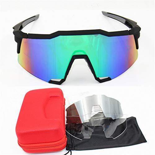 ZKAMUYLC SonnenbrilleSpeedcraft Radfahren Sonnenbrillen Polarisierte Männer Sport MTB Fahrrad Brillen Brillen Männer Brille Peter Flight Jacke