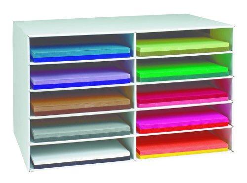 Classroom Keepers® Desktop Aufbewahrung (30,5x 45,7cm) stabile Boxen aus Wellpappe