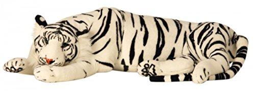 Tiger, Kuscheltiger weiß in XXL / Plüschtier