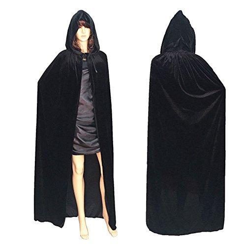 Xiongfeng®Damen Herren Halloween Umhang Karneval Kostüm Erwachsener Unisex (Kostüm Cape Lila Ideen)