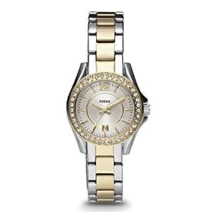 Reloj Fossil ES2880 de cuarzo para mujer con correa de acero inoxidable, color multicolor de Fossil