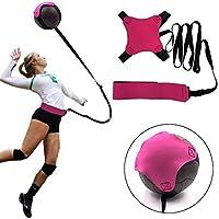 ljym88 - Dispositivo de entrenamiento de voleibol, entrenamiento de fútbol con banda de goma ajustable para mejorar las capacidades al servir/spike/brazo., color como en la imagen, tamaño Tamaño libre
