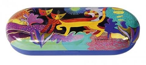Fridolin 18711 Rosina Wachtmeister Pays des Merveilles Étui à Lunettes Métal Multicolore 16 x 6,6 x 2,8 cm