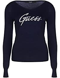 Amazon.fr   Guess - T-shirts, tops et chemisiers   Femme   Vêtements fda088279f3