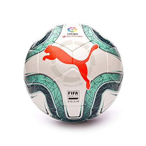 PUMA LaLiga FIFA Quality 2019-2020, Balón, White-Green
