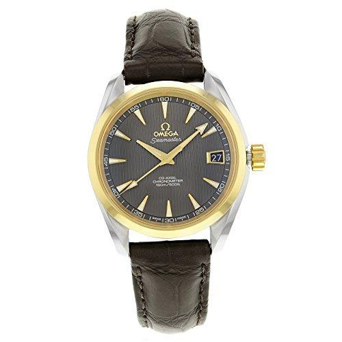 Omega Aqua Terra 231.23.39.21.06.002acero y oro reloj de Hombre Automático por Omega