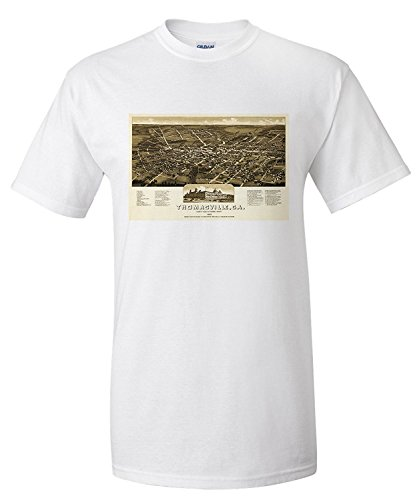 thomasville-georgia-panoramic-map-premium-t-shirt