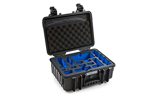 B&W outdoor.cases Typ 4000 mit DJI Mavic Air Fly More Combo Inlay - Das Original