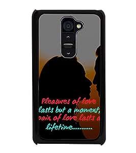 HiFi High Glossy Designer Phone Back Case Cover LG G2 :: LG G2 Dual D800 D802 D801 D802TA D803 VS980 LS980 ( Quotes On Love )