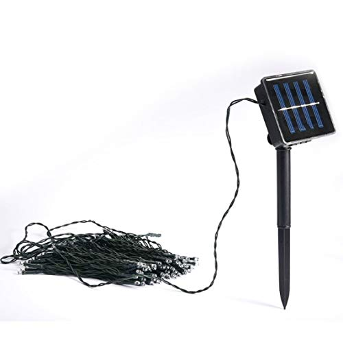 ForceSthrength 10M Waterproof 50 LED Solar Holiday String Lights for Christmas Festival