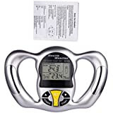 CkeyiN Handheld Body Fat Loss Analyzers BMI Meter Calculator Calorie Measure Fat Monitor With Large LCD Display...