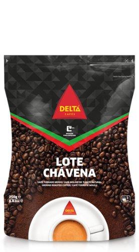 Delta tostado café molido para bolsa prensa francesa 250g