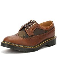 Dr. Martens Hombres Dark Marrón Made in England 3989 Brogue Zapatos-UK 10