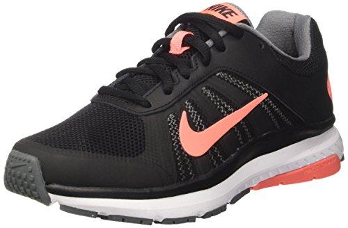 Nike Damen Wmns Dart 12 Laufschuhe, Schwarz (Black/Lava Glow/Cool Grey/White), 41 EU (Nike-dart)