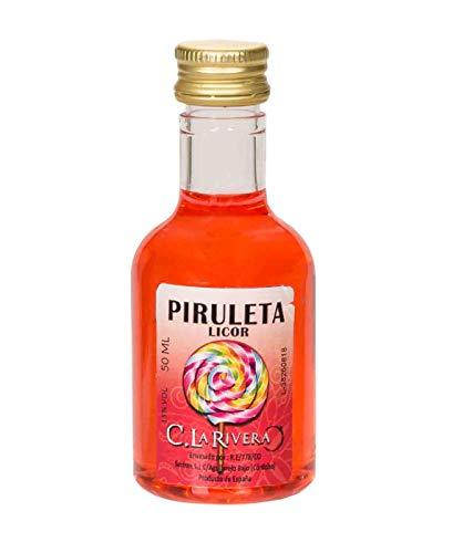 """Lote de 25 Botellas Alba de Licor\""""Piruleta\"""". Regalos Originales. Complementos. Detalles para Bodas, Comuniones, Bautizos y Cumpleaños. CC"""