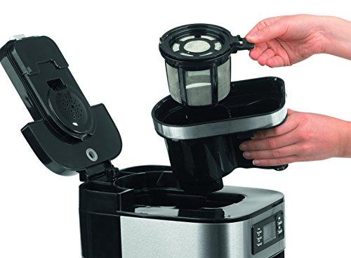 79 99 barista 09925 kaffeeautomat mit integriertem mahlwerk 1050 watt edelstahl kaffeemaschine. Black Bedroom Furniture Sets. Home Design Ideas