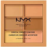 Nyx Professional Makeup Conceal Correct and Contour Palette, Medium, 9g