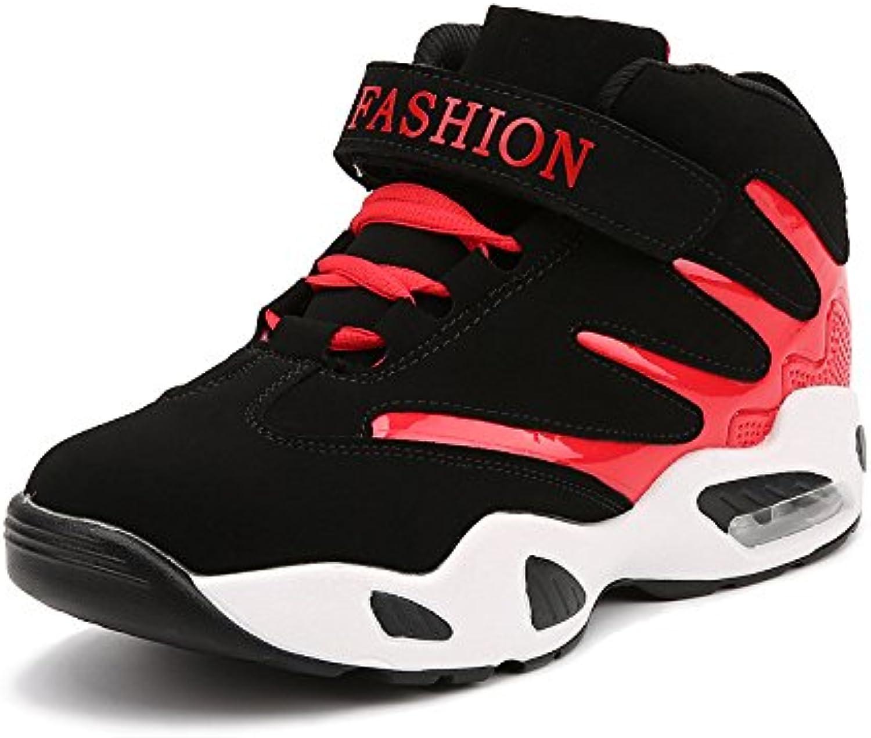 HYLM Vender como Hot Cakes Men Thick Bottom Zapatos Casual Zapatos Coreanos Aumentado Zapatos Deportivos Zapatillas