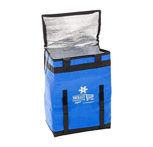 Haz que tu juego de bolsas estándar Trolley Bags sea aún más práctico con esta bolsa de refrigeración especial, que encaja perfectamente en la bolsa azul. Así podrás mantener los alimentos congelados más tiempo y evitar que se echen a perder antes de...