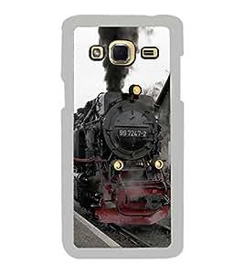 Fiobs Designer Back Case Cover for Samsung Galaxy J2 (6) 2016 J210F :: Samsung Galaxy J2 Pro (2016) (Train Rail Railway Steam Engine )
