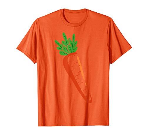 Big Carrot Kostüm Lustiges Gemüse Halloween Geschenk T-Shirt