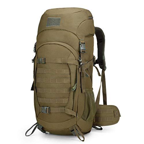 611c01c1db Mardingtop 50L Zaino Militare/Tattico Molle/Campeggio/Zaino di  Assalto/Escursionismo/