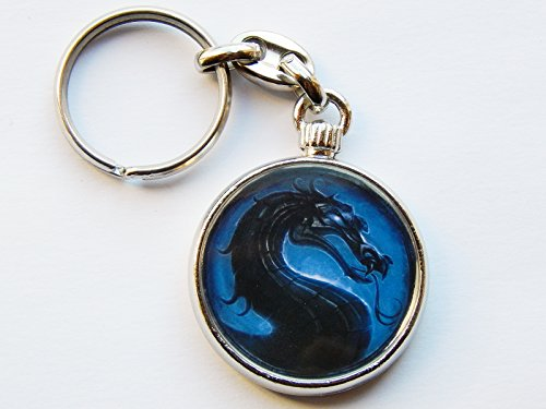 mortal-kombat-sub-zero-video-game-quality-chrome-keyring-picture-both-sides