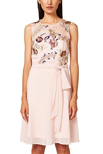 ESPRIT Collection Damen Partykleid 038EO1E019, Rosa (Pastel Pink 695), 42