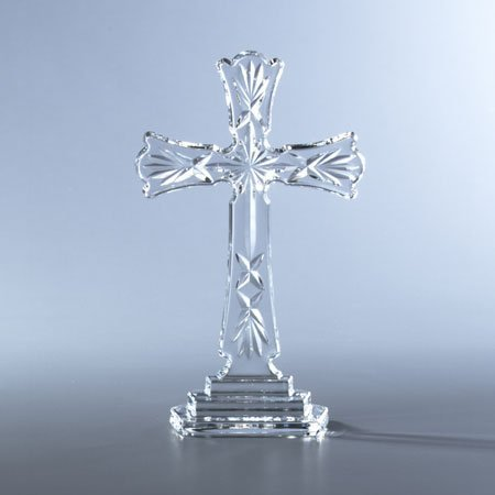 Waterford Crystal 8-Inch Standing Cross by Waterford Waterford Crystal Cross