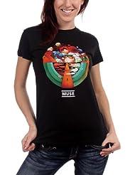 Muse Exogenesis–Camiseta para niña en color negro
