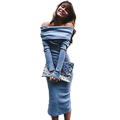 Amlaiworld Donna Giacca manica lunga pizzo giacca tuta cappotto Casuale Outwear (S)
