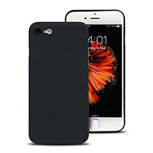 """Original CellBee® iPhone 7 Ultraslim Case - Superdünnes Case für das Apple iPhone 7 4,7"""" in Deep Black - Schwarz   Nur 0,33mm   Perfekter Schutz gegen Kratzer   Super leicht   Die Schutzhülle ohne Designkompromisse  """