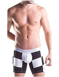 Unico Boxer Suspensor F1 Microfibre Long Leg Men's Underwear