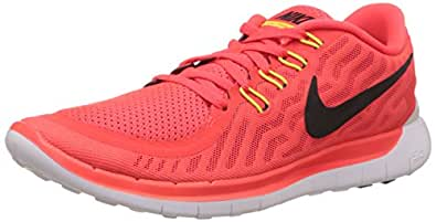 Nike Men's Free 5.0 Running Shoe Brght Crmsn/Blk/Ttl Orng/Brght 11.5 D(M) US