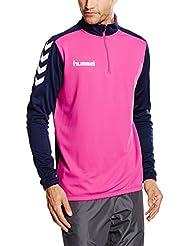 Hummel Trainingsjacke Half-Zipper – CORE 1/2 ZIP SWEAT – Zipjacke langarm - Zipsweater Herren - Fitnessjacke Sport – Sportjacke div. Farben - Trainingszipper