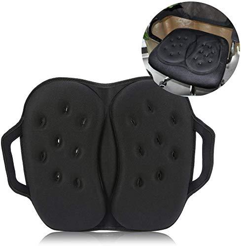 Cojín de asiento de espuma ortopédica con memoria - Cojín de gel de esponja de asiento de oficina de automóvil moderno, diseño ortopédico para alivio de la espalda de ciática