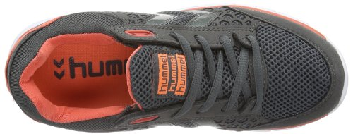 Hummel Hummel Cross Lite, Chaussures de Fitness Adulte Mixte Gris (dark Shadow/hot Coral 2846)