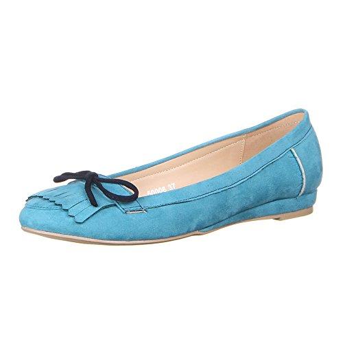 Ital-Design, Ballerine donna Blu (blu chiaro)