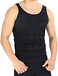 ZURU BUNCH Slim N Lift Slimming Tummy Tucker Body Shaper Vest For Men Undershirt Vest To Look Slim Instantly :...