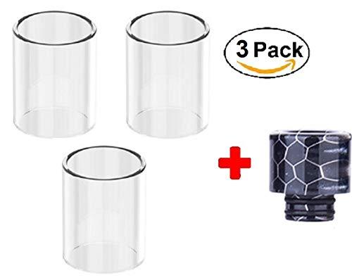 ✅ 100% Authentisch ✅ Ersatz-Glas für SMOK TFV8 5ML (3 pcs) + DRIP Tip 810 -