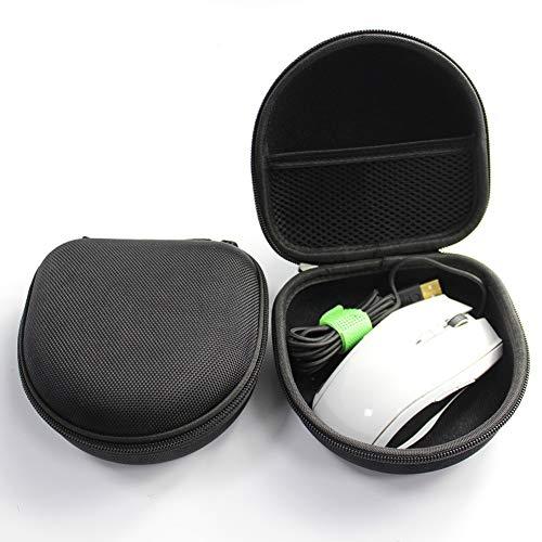 obiqngwi für elektronische Wettkampfsportarten, Ladegerät Datenkabel Maus Aufbewahrungsbox Home Office Schreibtisch Veranstalter Schmuck EVA Fall - schwarz