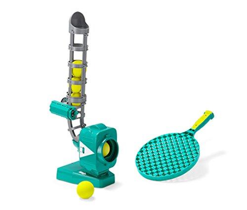 TCM Tchibo Ball Wurfmaschine inkl. 5 Bälle und 1 Schläger Ballschleuder