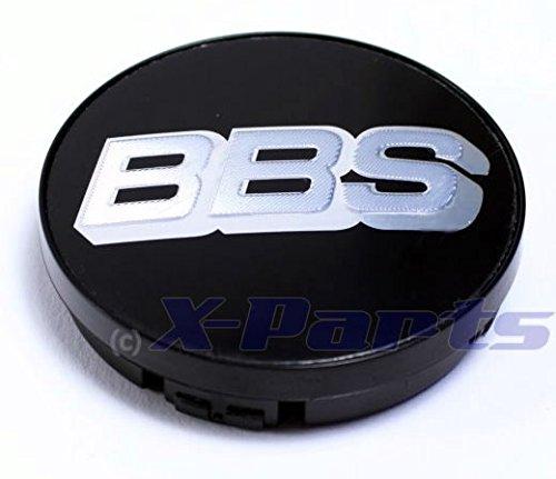 BBS Alloy Wheel Single Centre Casquette Emblem Black Chrome Silver 56 MM bb0924257 New Without Snap Bague