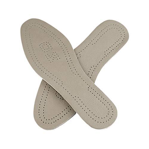 SUPVOX Gambe correzione Solette in pelle Tipo o Gambe ortopedica scarpe inserti antiscivolo Solette per uomo donne