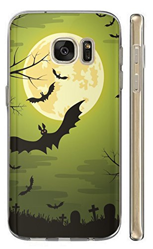 Hülle für Huawei P20 Lite Softcase TPU Hülle P20 Lite Cover Backkover Schutzhülle Slim Case (1505 Fledermaus Bat Cartoon Halloween)