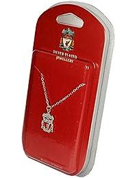 Liverpool FC versilberter Liverbird-Anh/änger und Kette