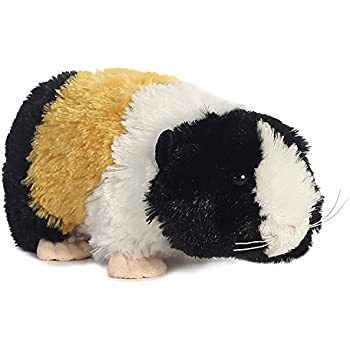 Aurora World Happy Hamster Mini Flopsies Plush Toy Beige//White//Pink