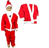 Santa Claus Fancydress Kids Costume (6-8...