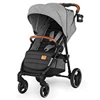 Kinderkraft Grande 2020, Pram, Stroller, Pushchair, Folded, All-Wheel Cushioning
